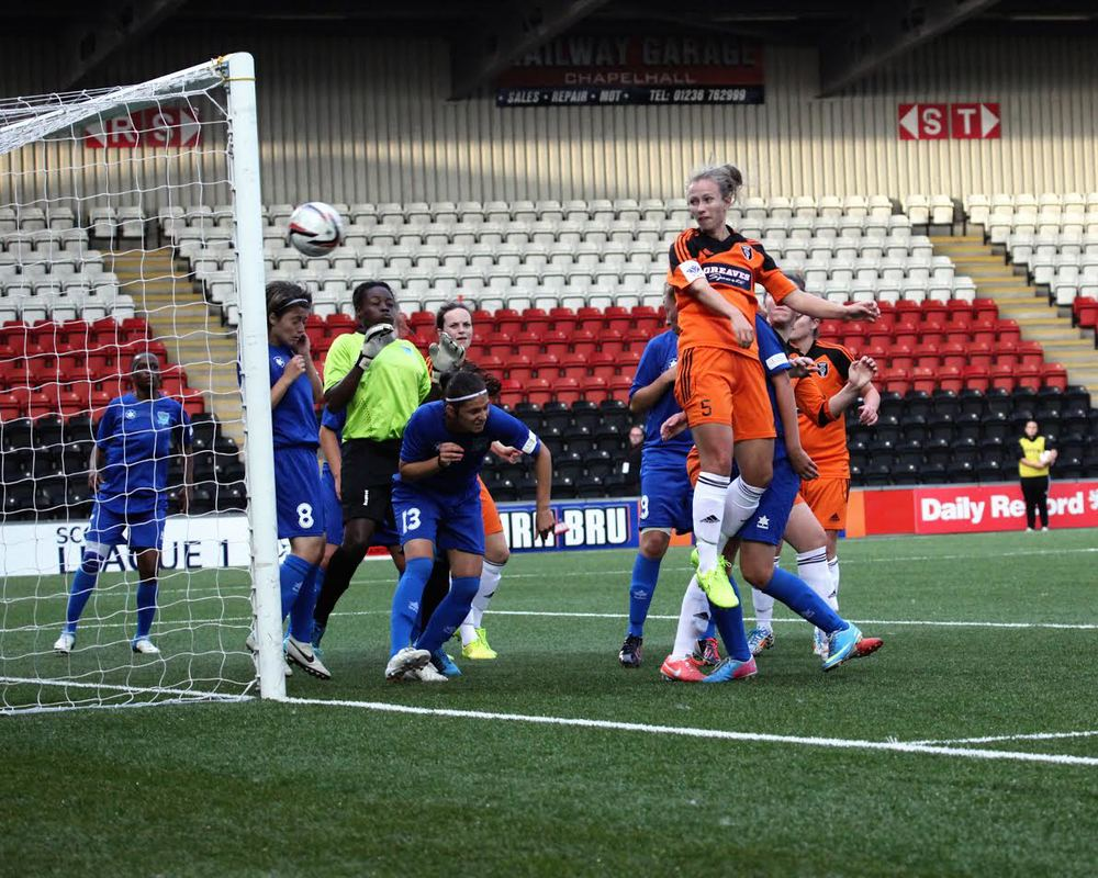 EIlish McSorley scores her first of the game. Image by Andy Buist.