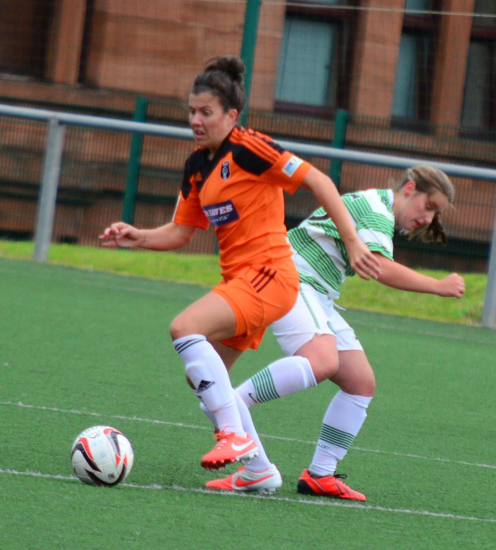 Leanne Crichton in action. Image by Graeme Berry