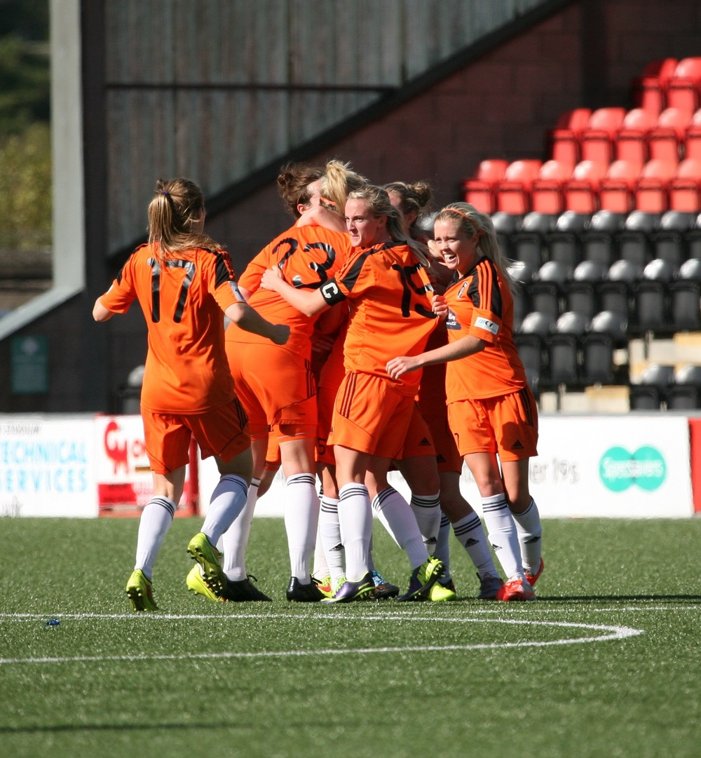 City celebrate Eilish McSorley's winner. Image by Andy Buist.