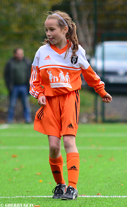 Pictured: Glasgow City Under 11s in recent action by Graeme Berry.