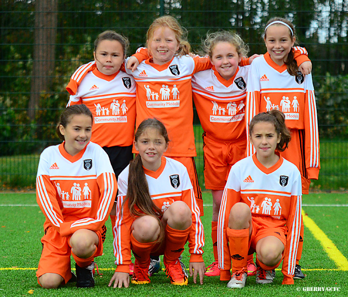 Pictured: Glasgow City Under 11s Graeme Berry.