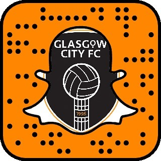 We are here on Instagram... However we are now also on Snapchat!  Add: glasgow-cityfc or use the snap code for content on match days and from our mystery player from the squad.