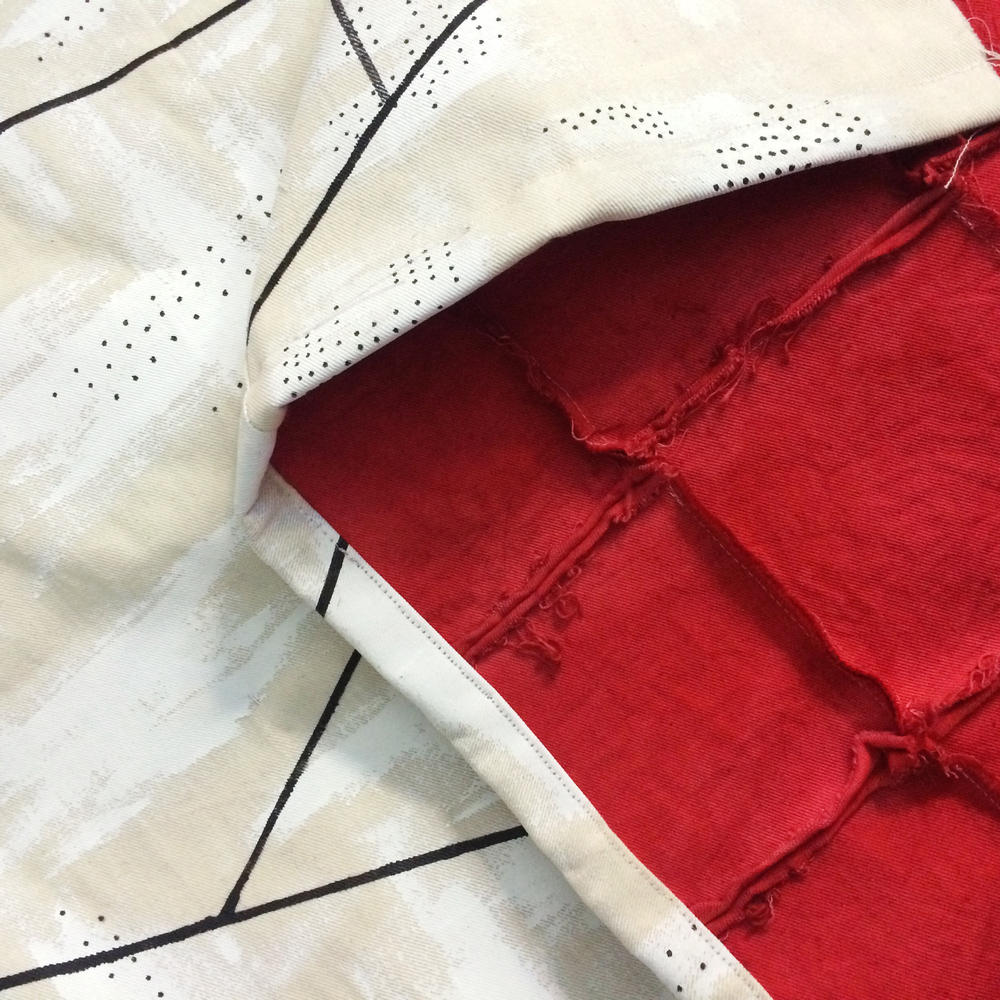 Detail of Hand Painted Custom Haori Kimono