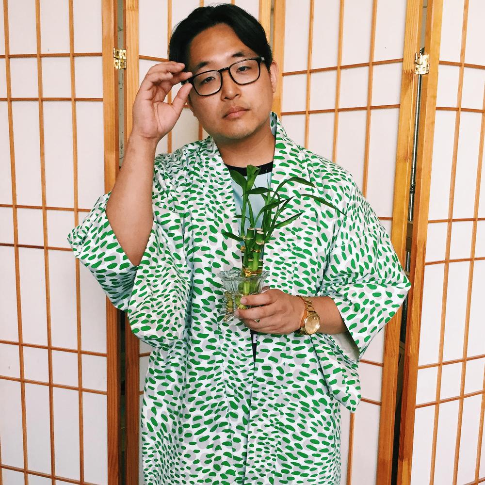 Rek in his custom Haori Kimono