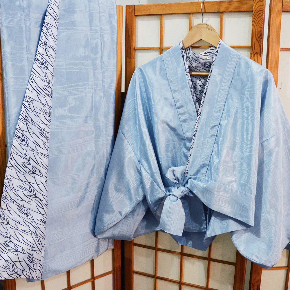 Women's Jinbei Set (hippari + skirt)