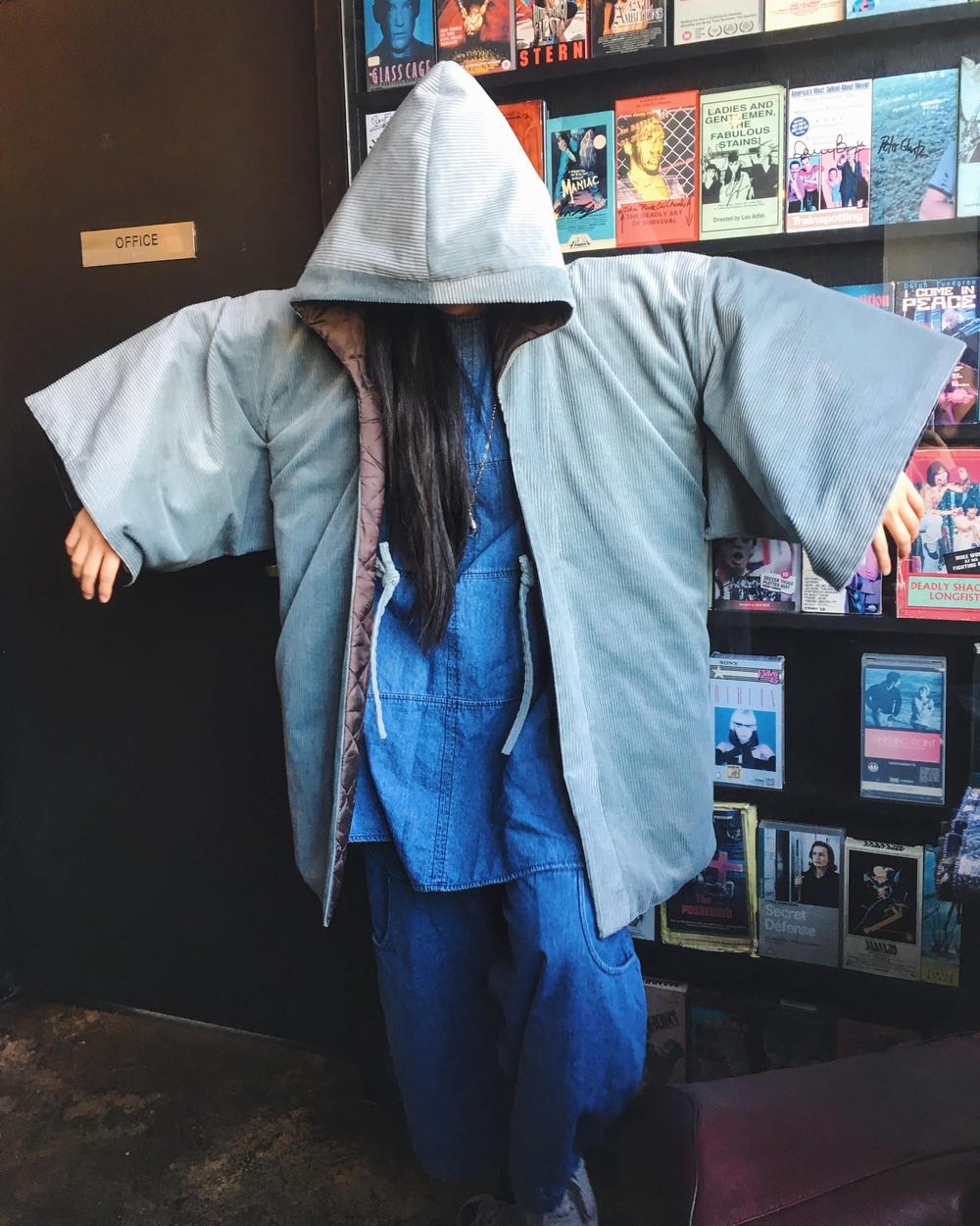 Vaevae in her Hooded Haori Kimono