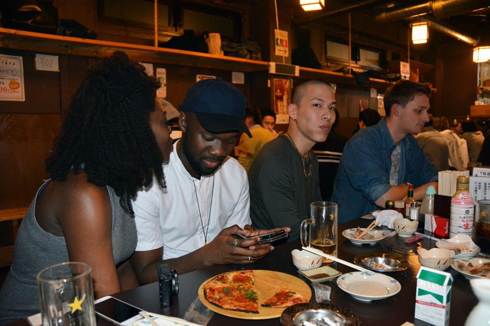 Isabelle, Derek, Yuno, and Aaran