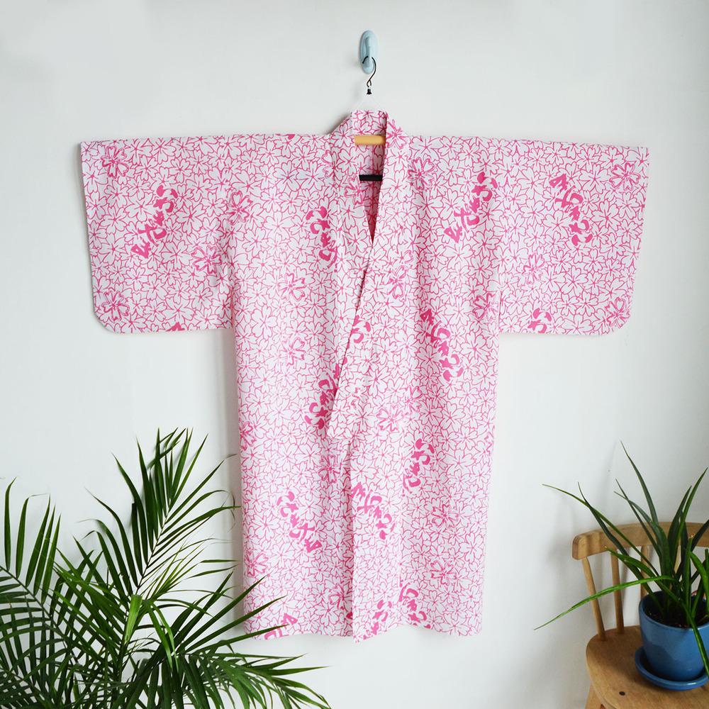 Pink Floral Yukata
