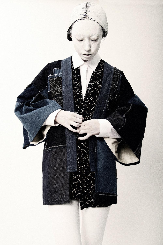 Tsubasa in the Boro Haori by THE KIMONO KIDwww.thekimonokid.com