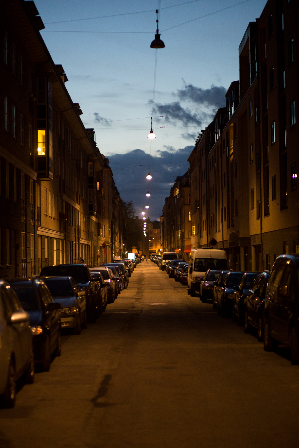 "A block from ""home"". Copenhagen is stunning."