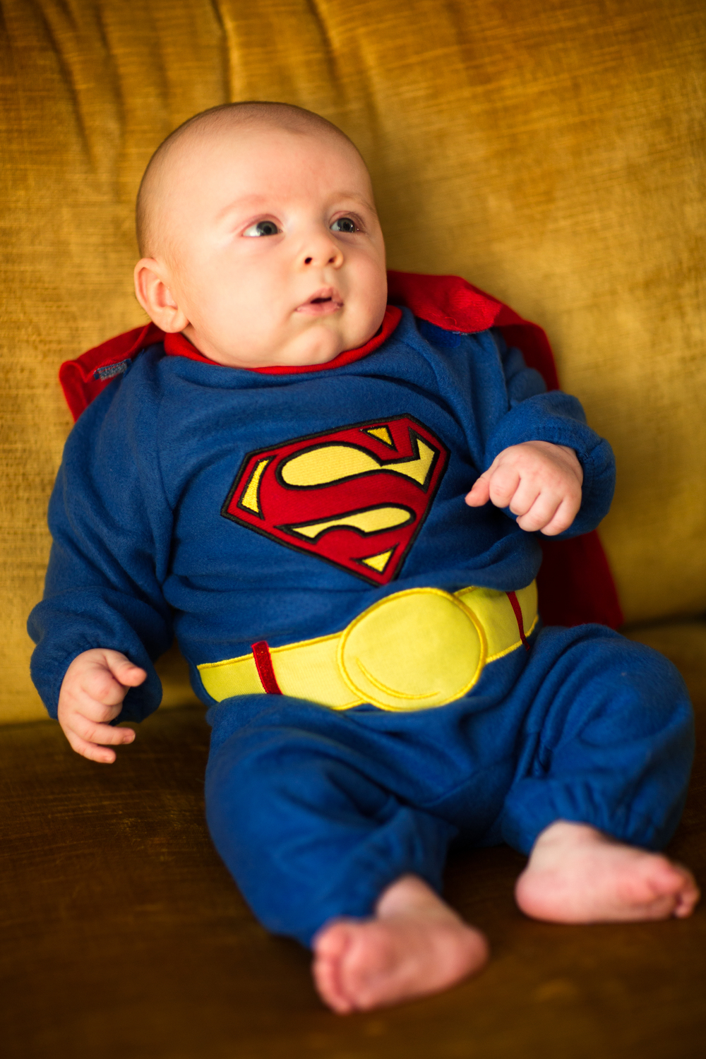 baby first Halloween superman costume