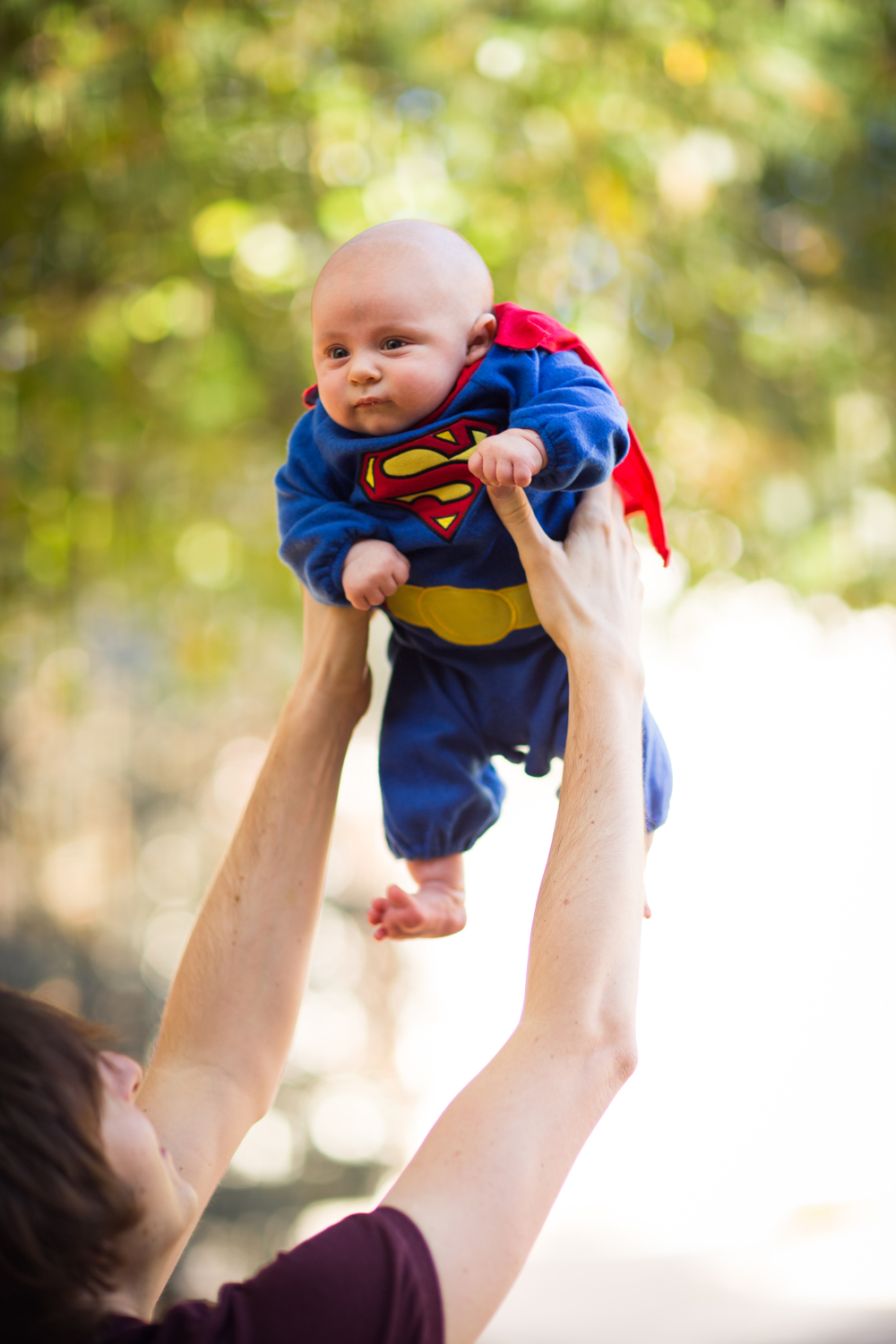 baby superman halloween costume