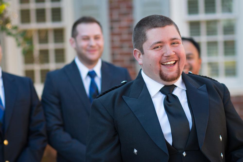 Yorktown groom kilt