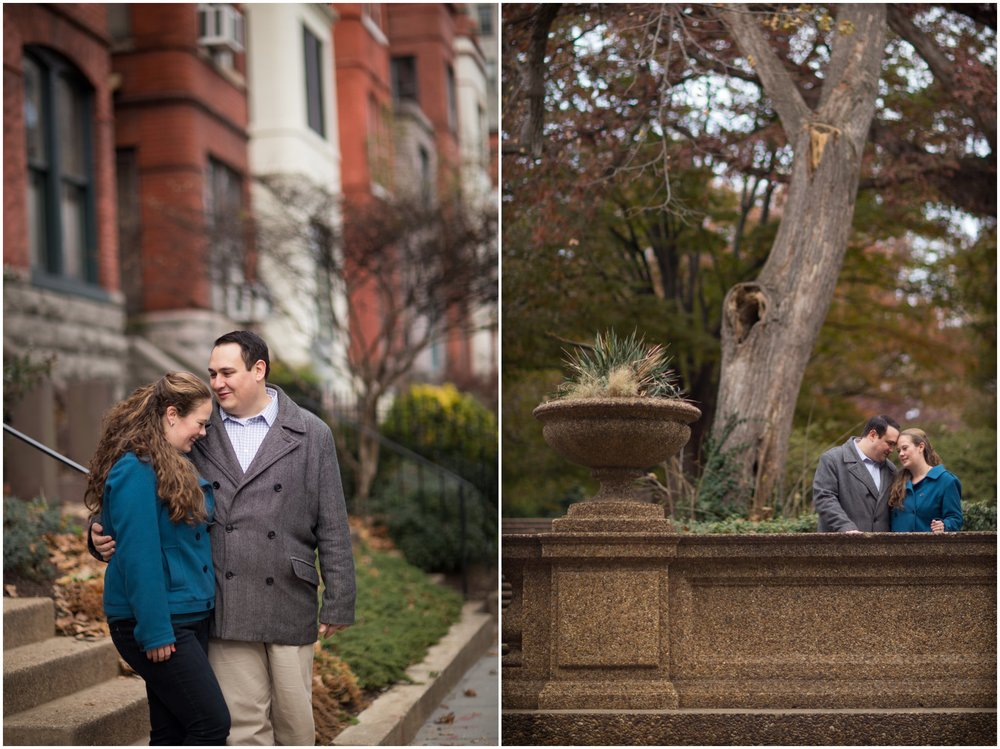 Rowhouse Meridian Hill Park engagement