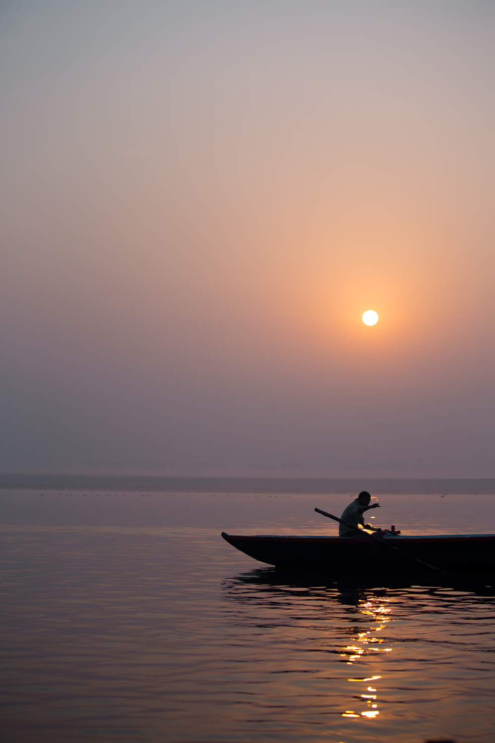 A sunrise tour of Varanasi's Ganges River is well worth the early start.