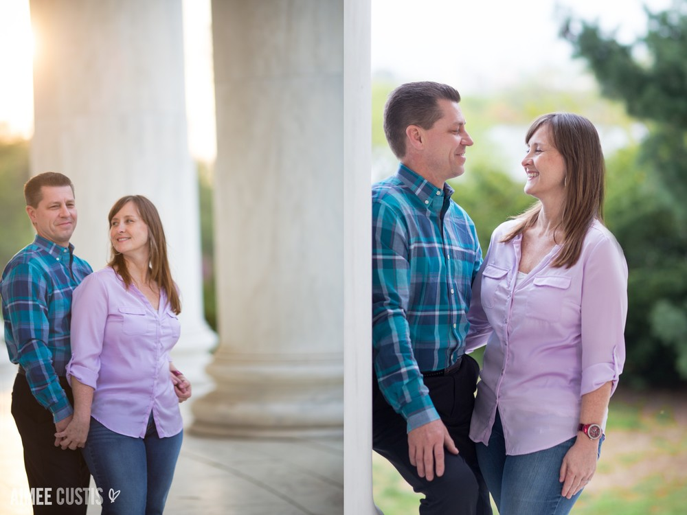Washington DC engagement photography