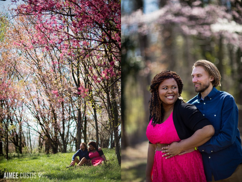 National Arboretum engagement session