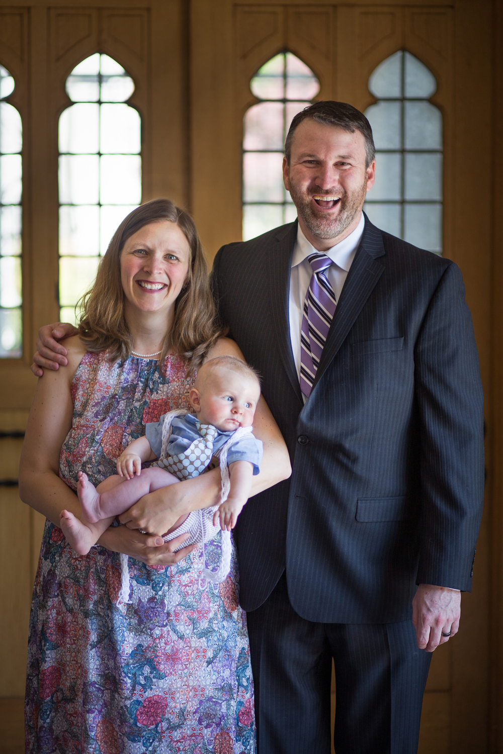 Teddy baptism (May 2015)