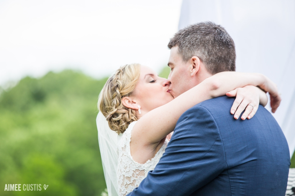 Smokey Glen Farm wedding ceremony