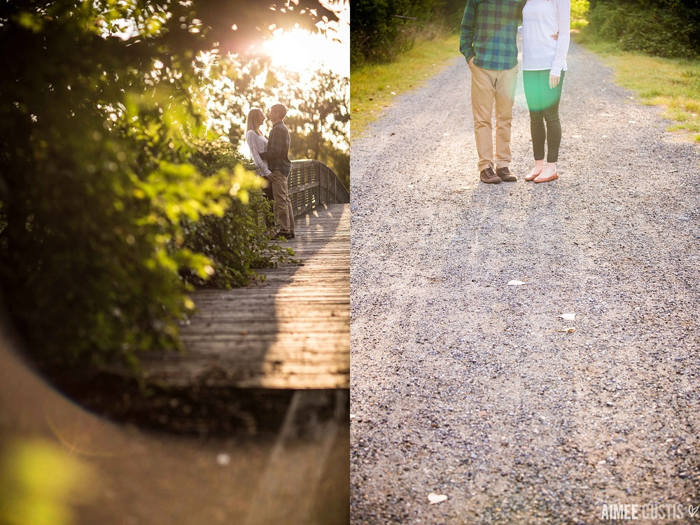 Kingman Island engagement session