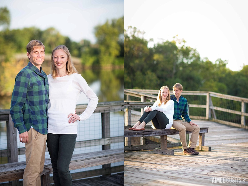 Kingman Island engagement photography