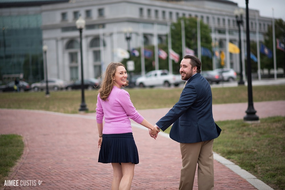 DC Capitol Hill engagement photos