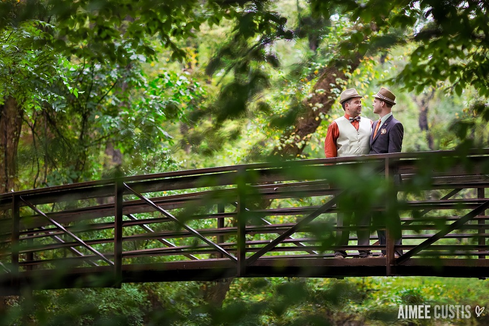 Northern Virginia same sex wedding photography