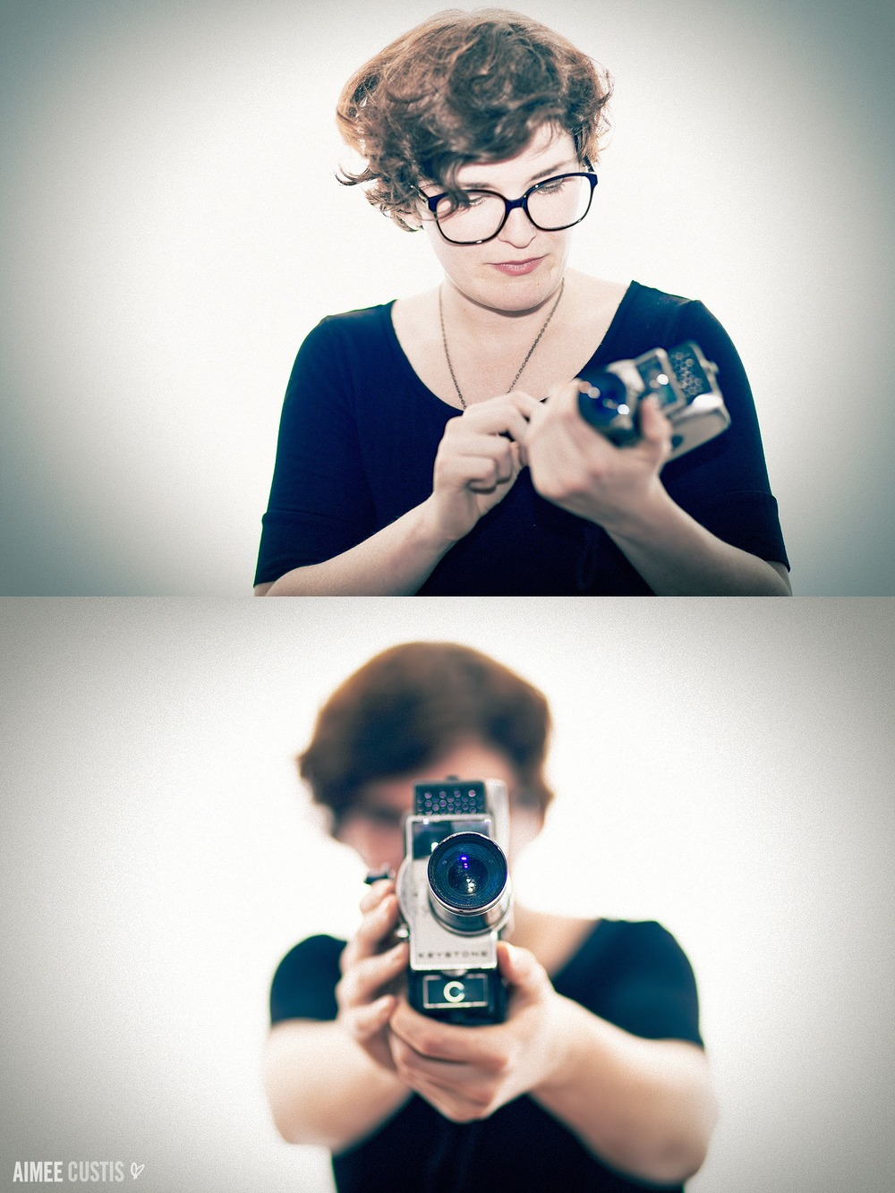 vintage hipster portrait inspiration camera