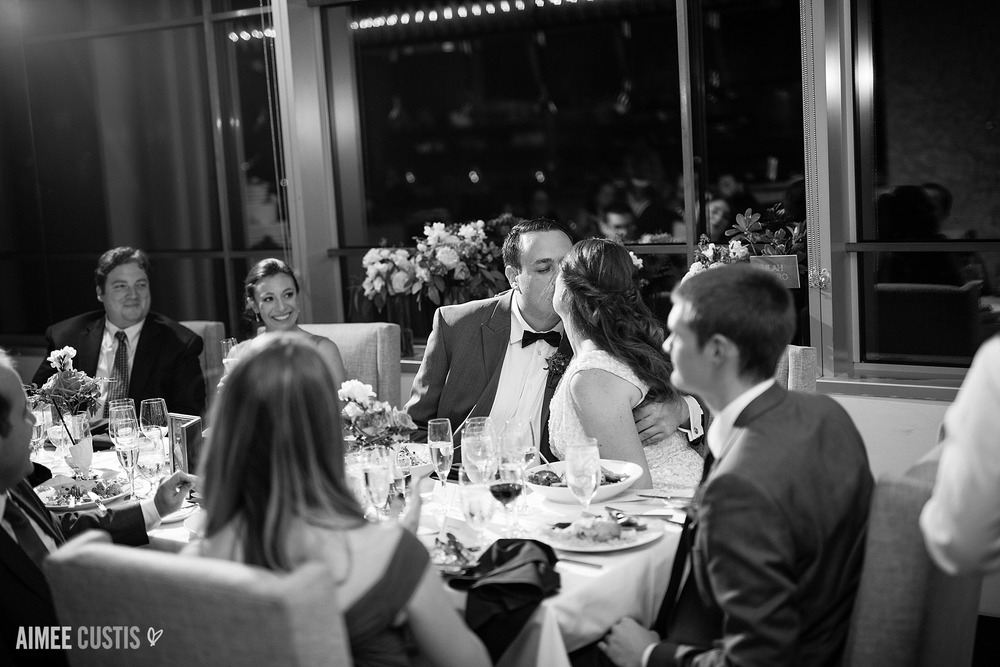 Glamorous cityscape wedding at Le Meridien Arlington