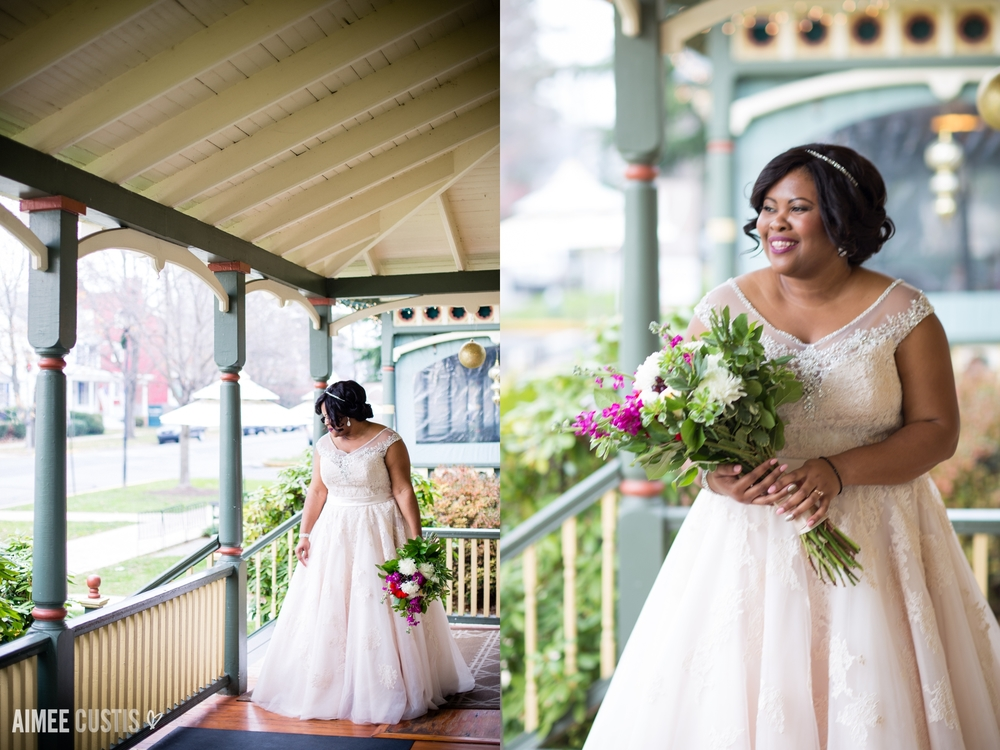 winter Vandiver Inn wedding Havre de Grace