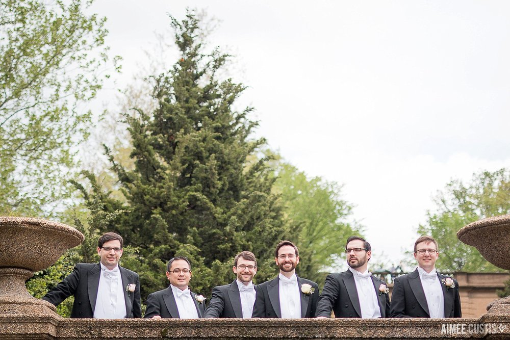 Darcy + Clark's romantic wedding day at Meridian Hill Park