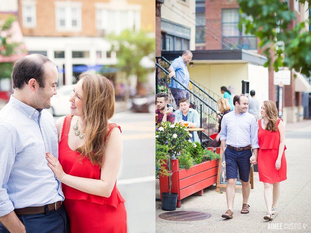 Adams Morgan DC engagement
