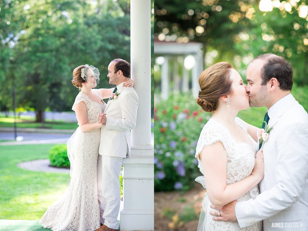 timeless garden wedding at Lincoln's Cottage wedding photography