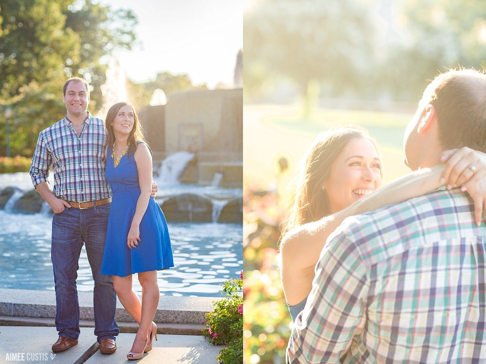 Capitol Hill Senate Park engagement session