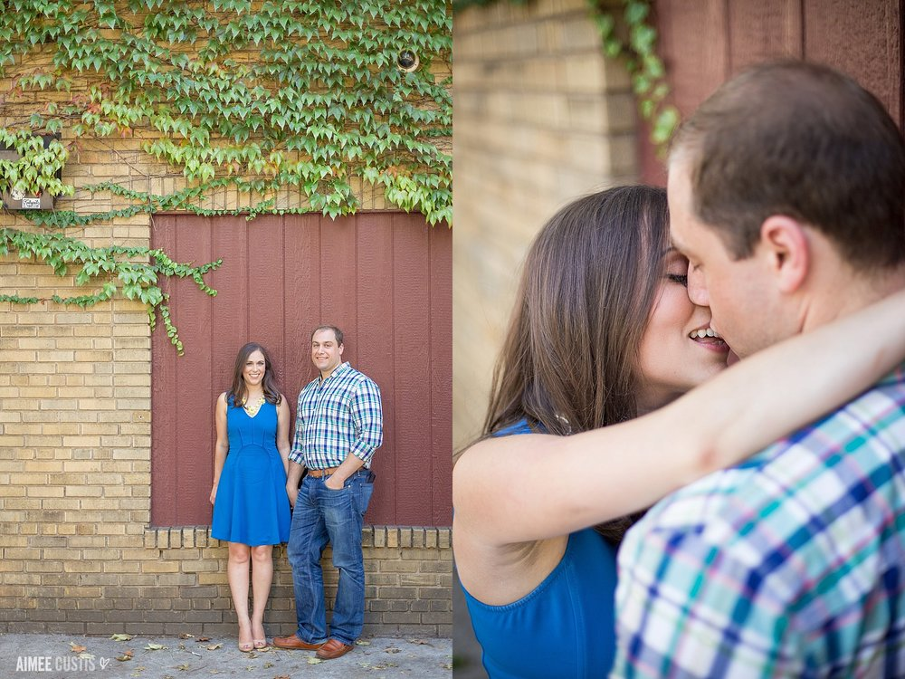 Wonderland Ballroom engagement session DC