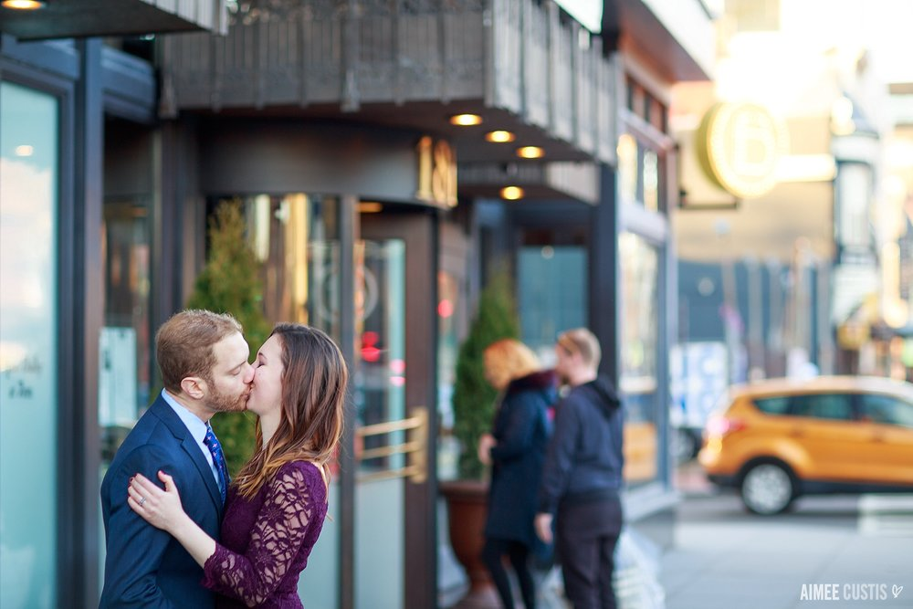 14th St Logan Circle engagement session DC