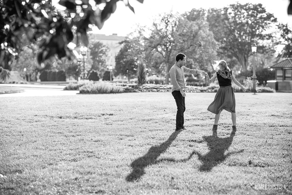 DC Capitol Hill engagement session