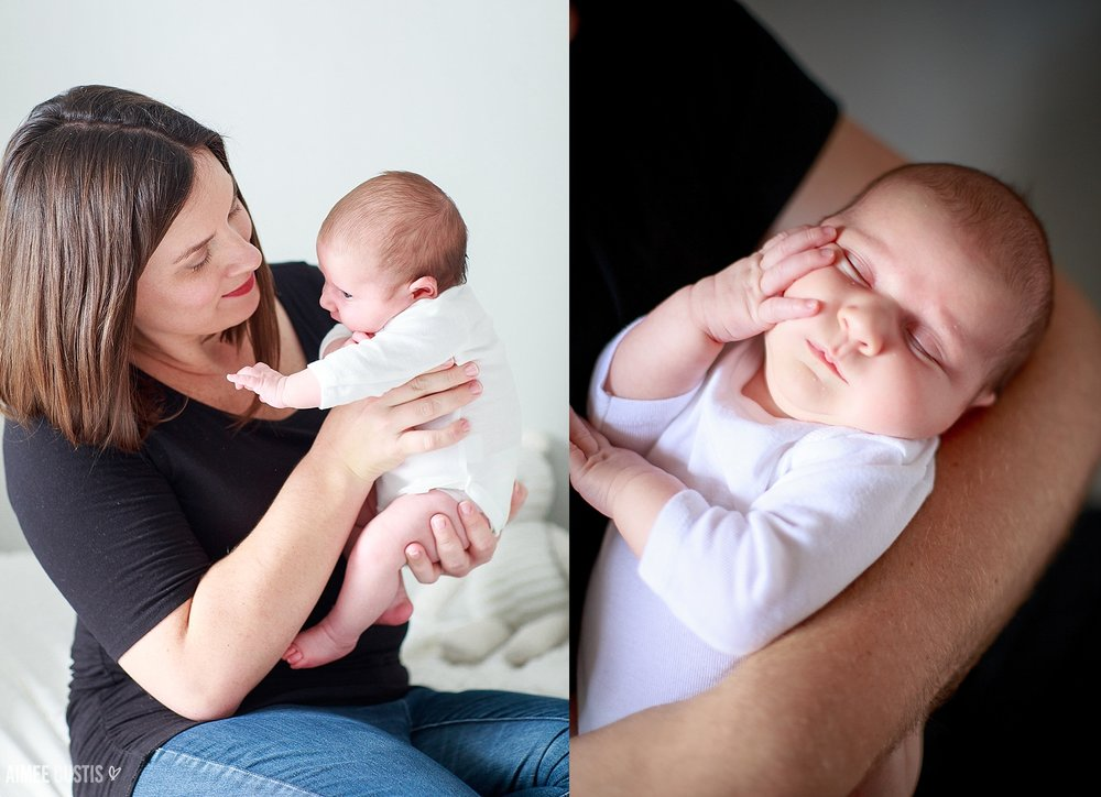 lifestyle newborn photography in Washington DC
