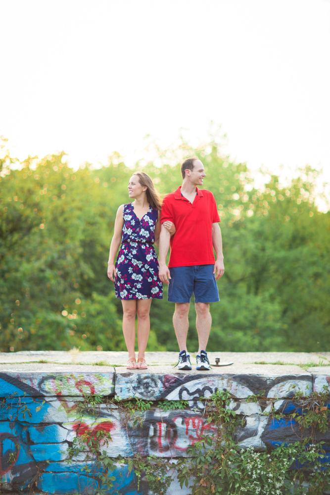 Stephanie + John, September