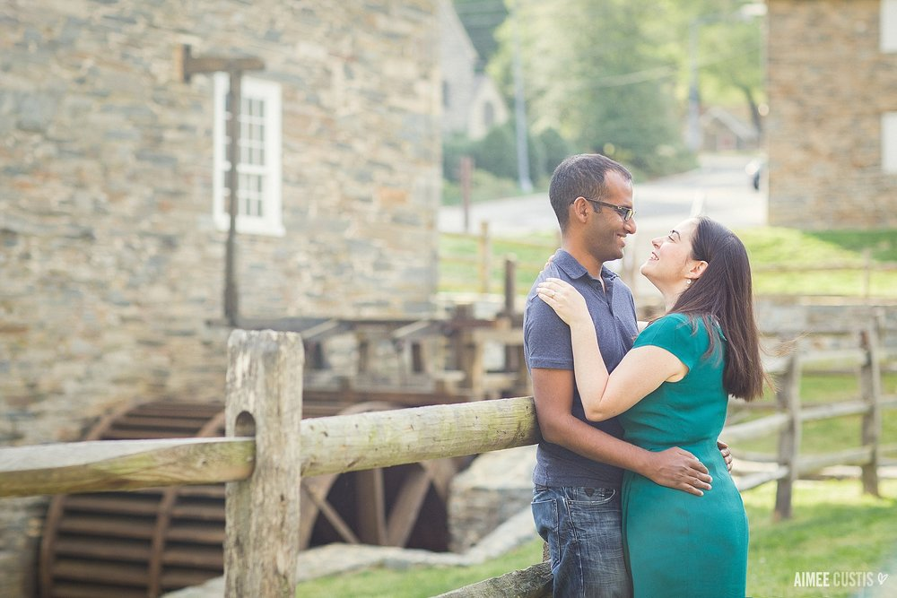 Washington DC Pierce Mill engagement session