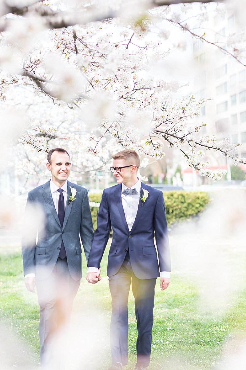 colorful candid relaxed same-sex wedding photography