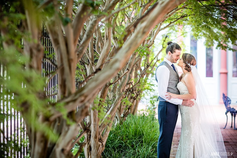 1840s Carrollton Inn Plaza Baltimore wedding photography