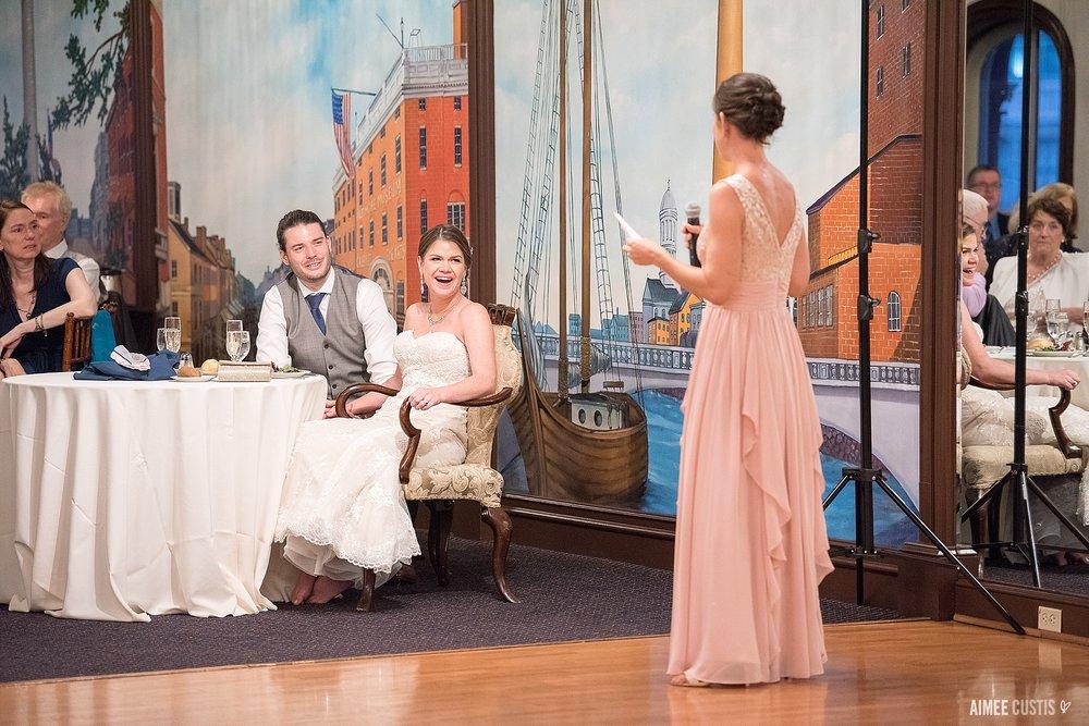 1840s Carrollton Inn Plaza Baltimore wedding photography