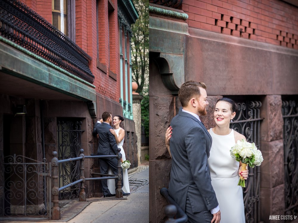 best Washington DC elopement photographers Heurich House wedding photography