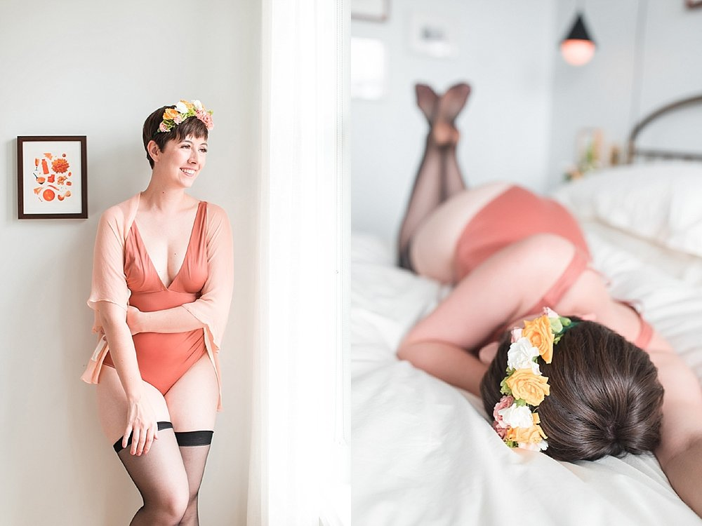Laura Quintero Photography boudoir Washington DC