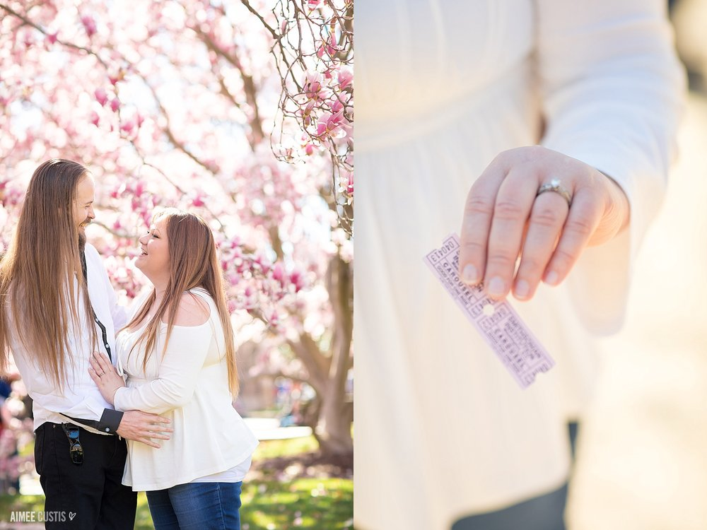 Washington DC proposal photography