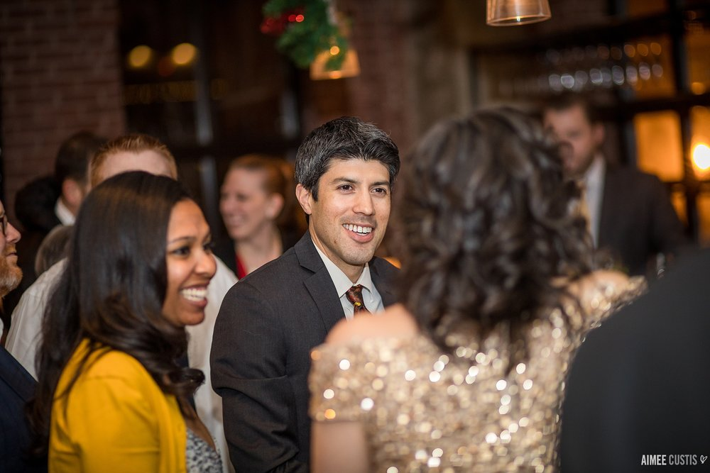 offbeat NYE wedding Georgetown Washington DC wedding photographers