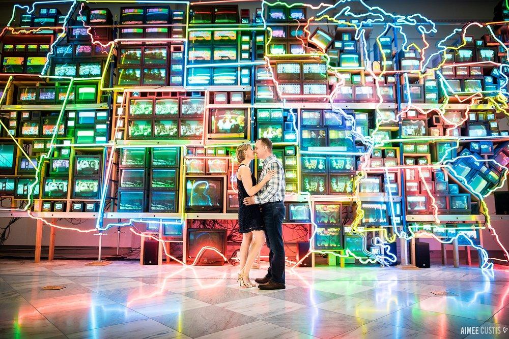 Washington DC Chinatown best engagement photographers
