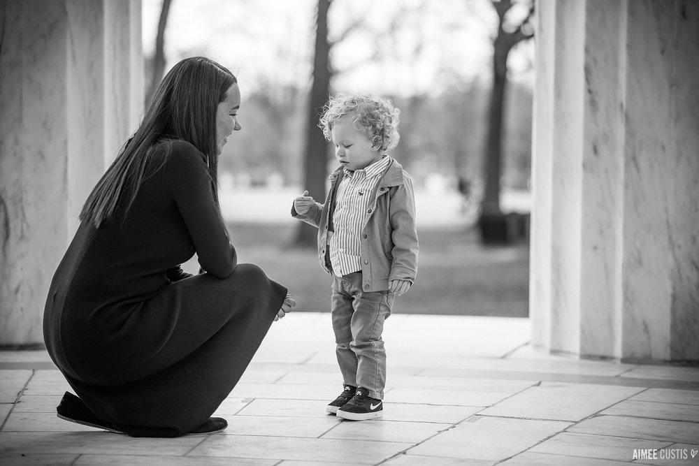 Washington DC surprise marriage proposal photography
