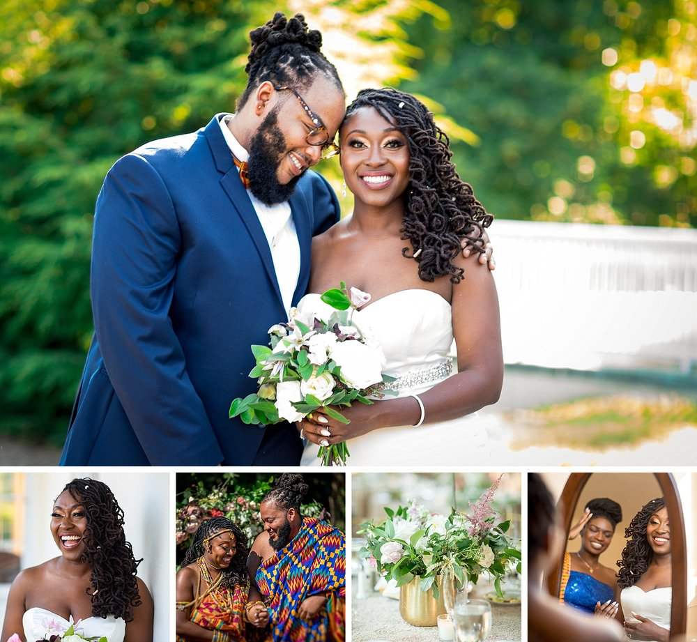 traditional kenyan wedding ceremony reception at mt airy mansion